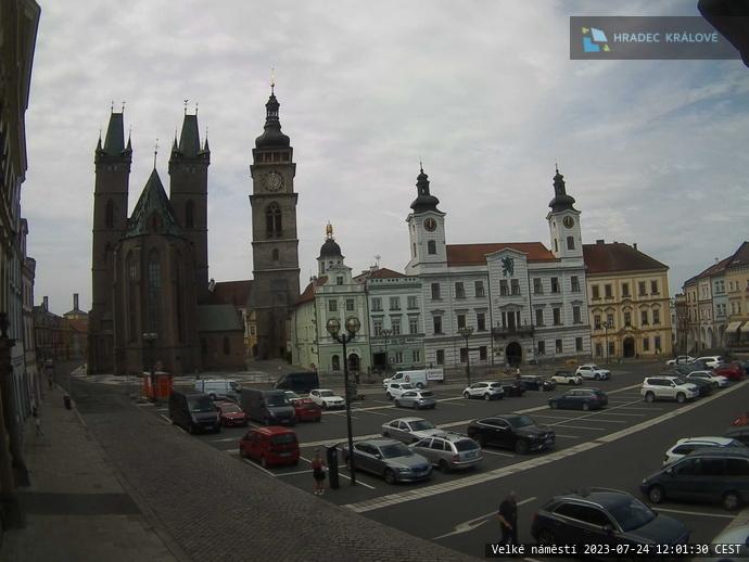 webkamera Velké náměstí, Hradec Králové